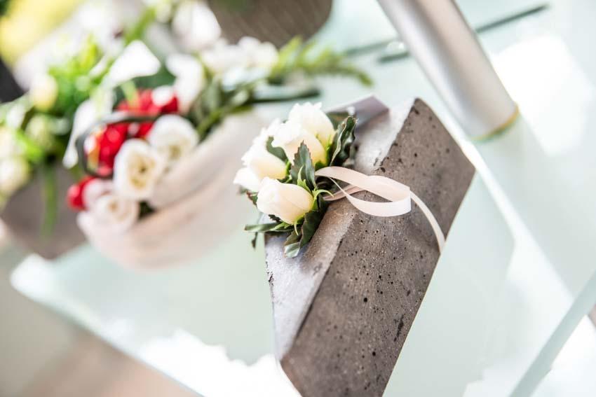 Montage fleurs moderne