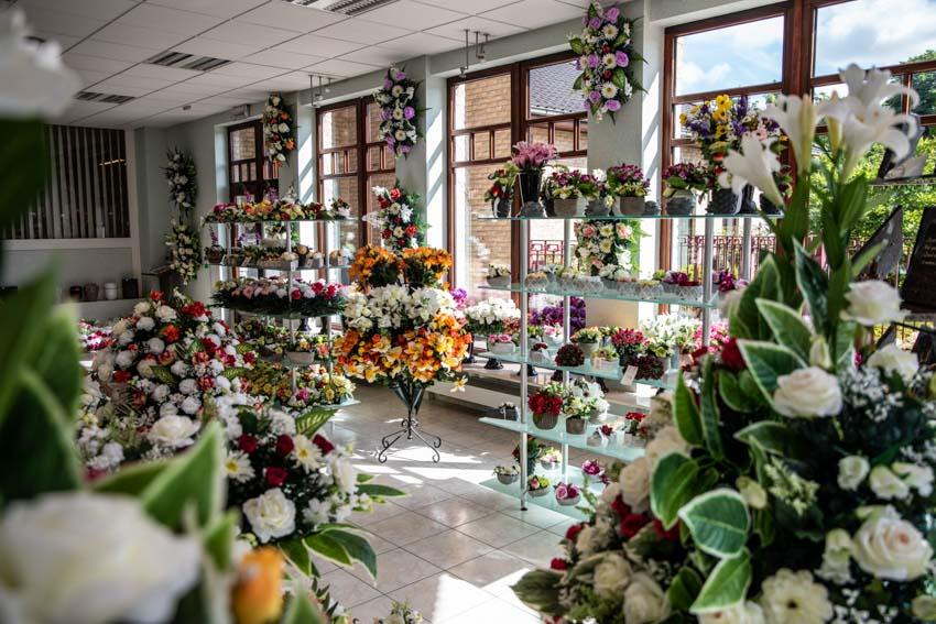 Fleurs funéraires Charleroi